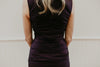 Black Rouched Short Dress