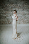 Ivory Long Wedding Dress