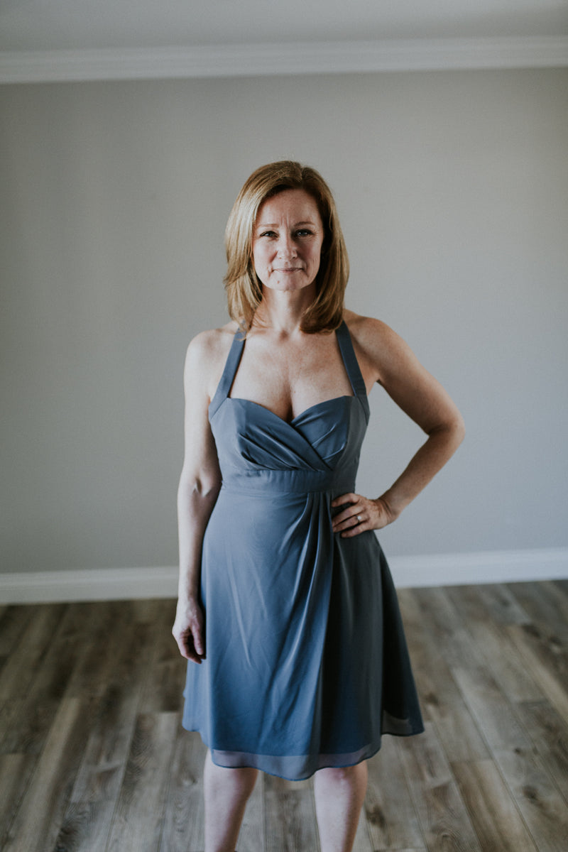 Halter Cocktail Dress
