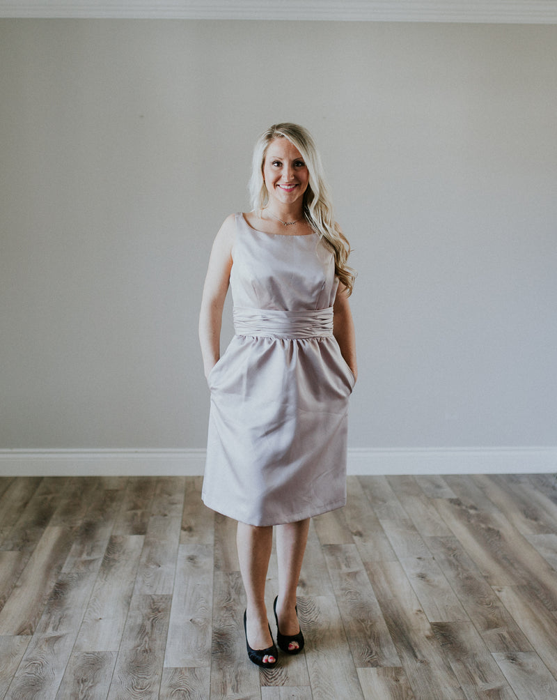 Cocktail Grey Dress