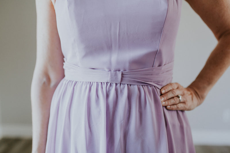 Light Purple Cocktail Dress