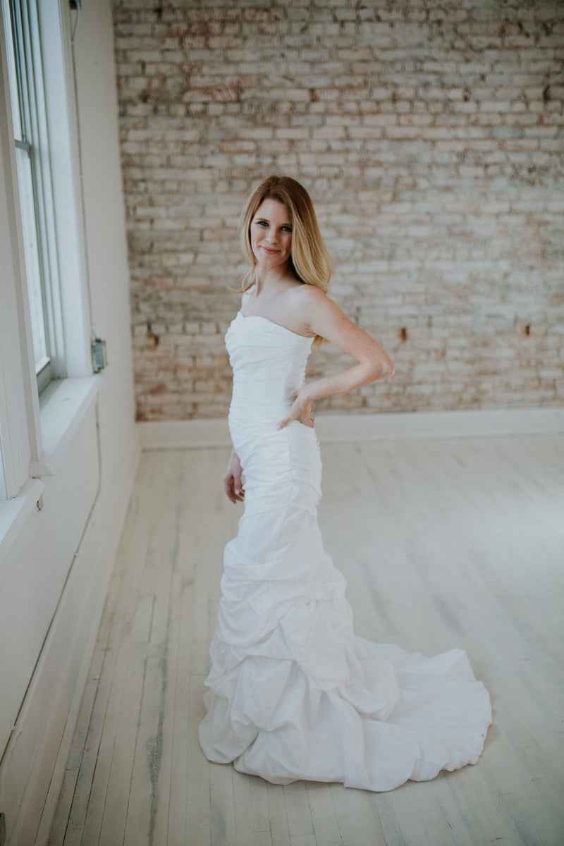 Wedding Dress with Train
