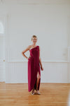 Long Scarlet Dress