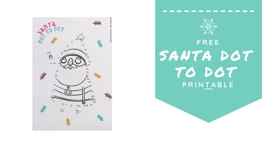 FREE Printable Christmas Dot-To-Dot