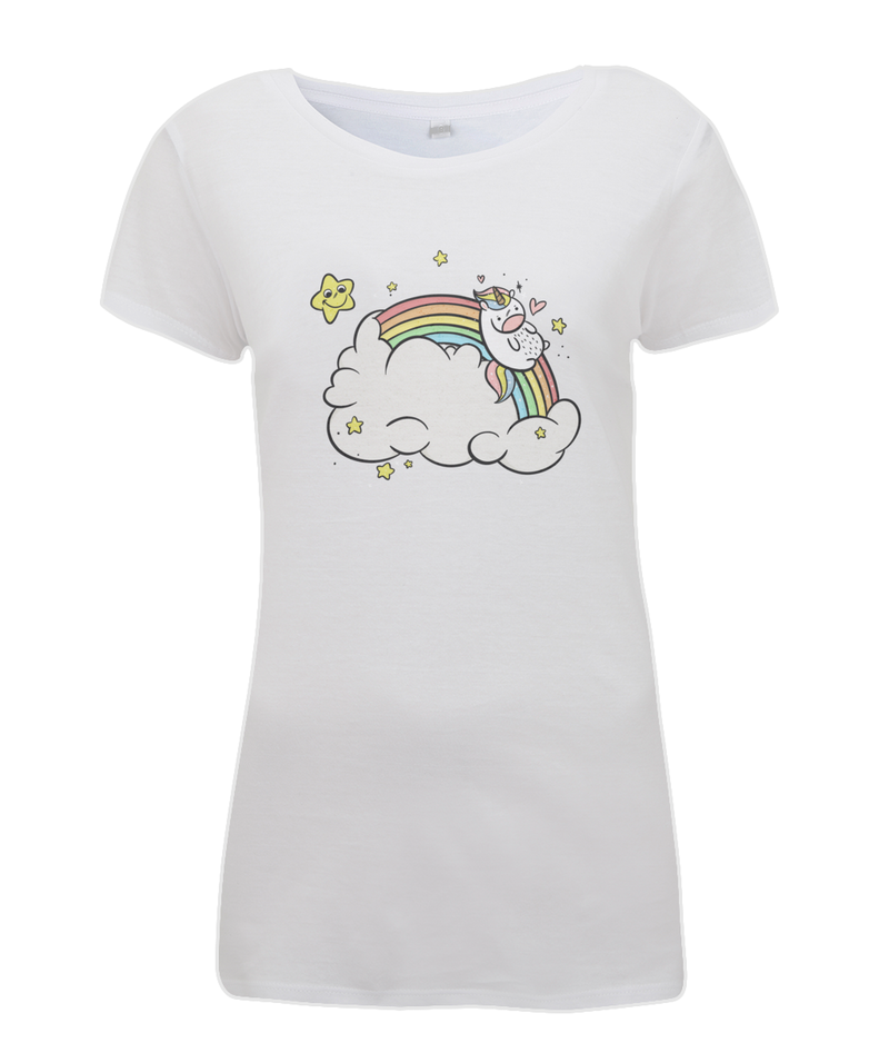 Rainbow Unicorn Tee - House Of Wonderland, HOW