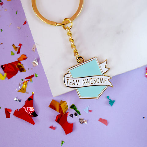 SECONDS Team Awesome® Keyring