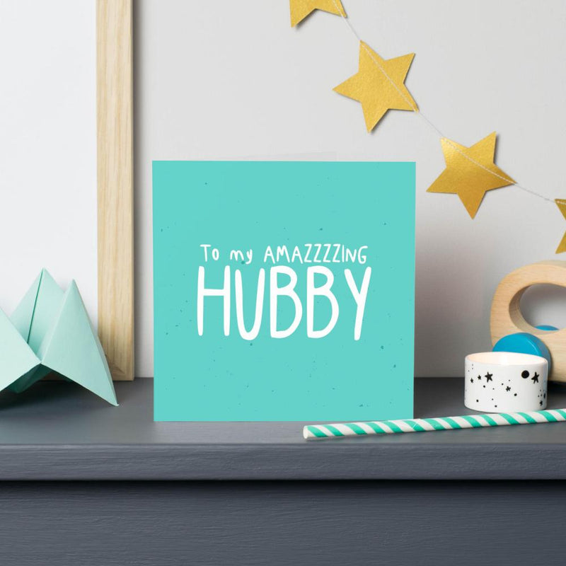Amazing Hubby Card - House Of Wonderland