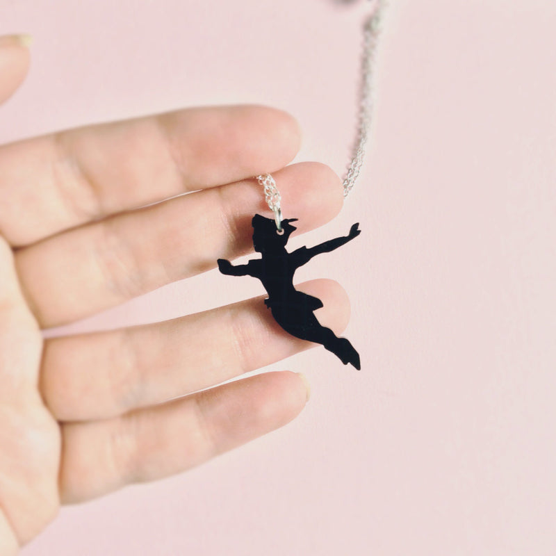 Peter Pan Necklace - House Of Wonderland, HOW