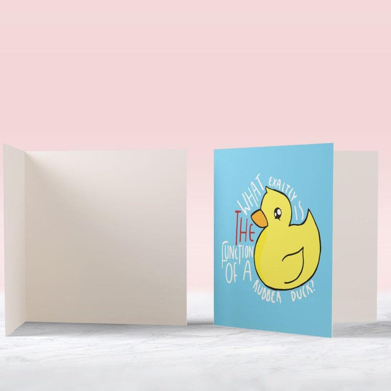 Funny Duck Card - House Of Wonderland