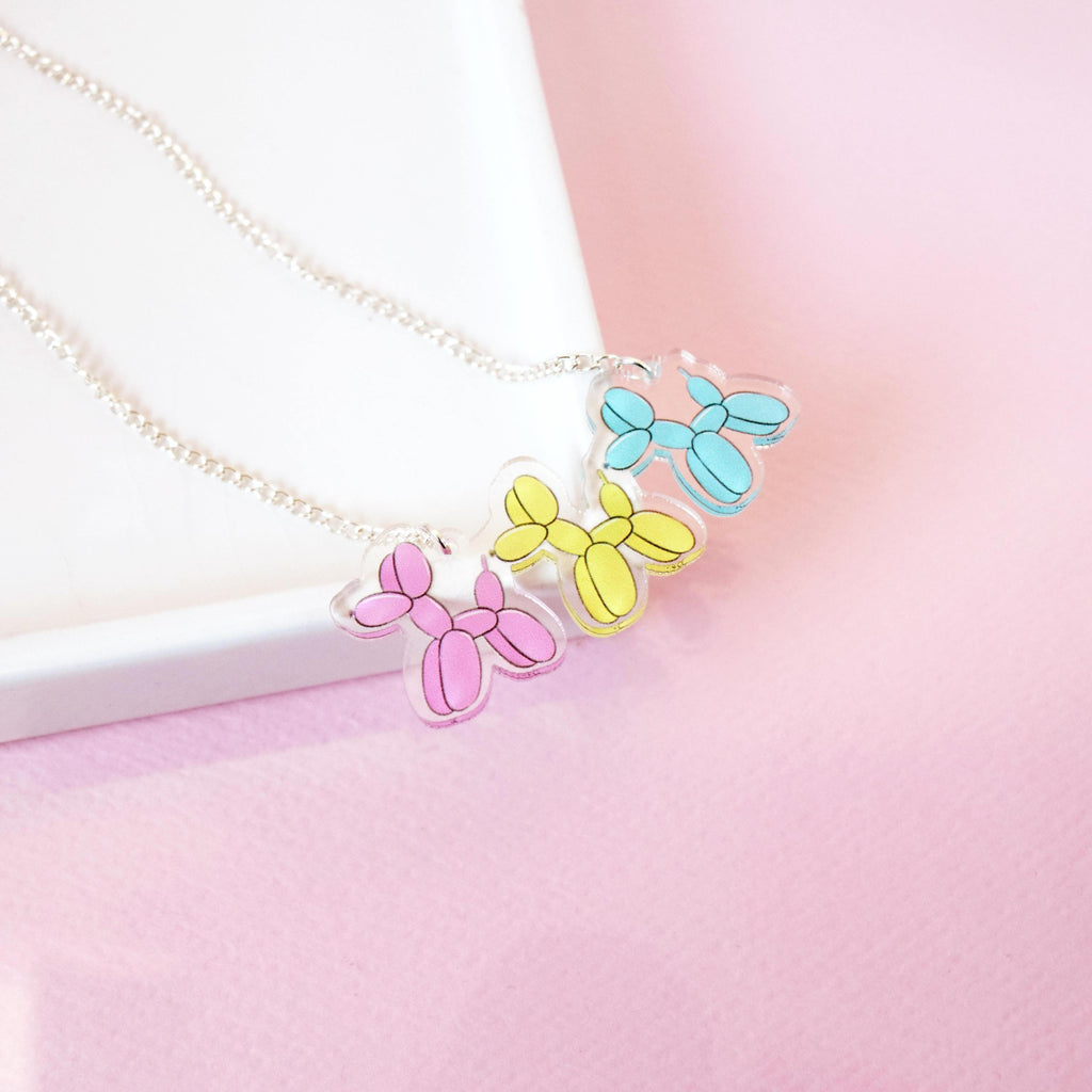 Balloon Dog Necklace - House Of Wonderland