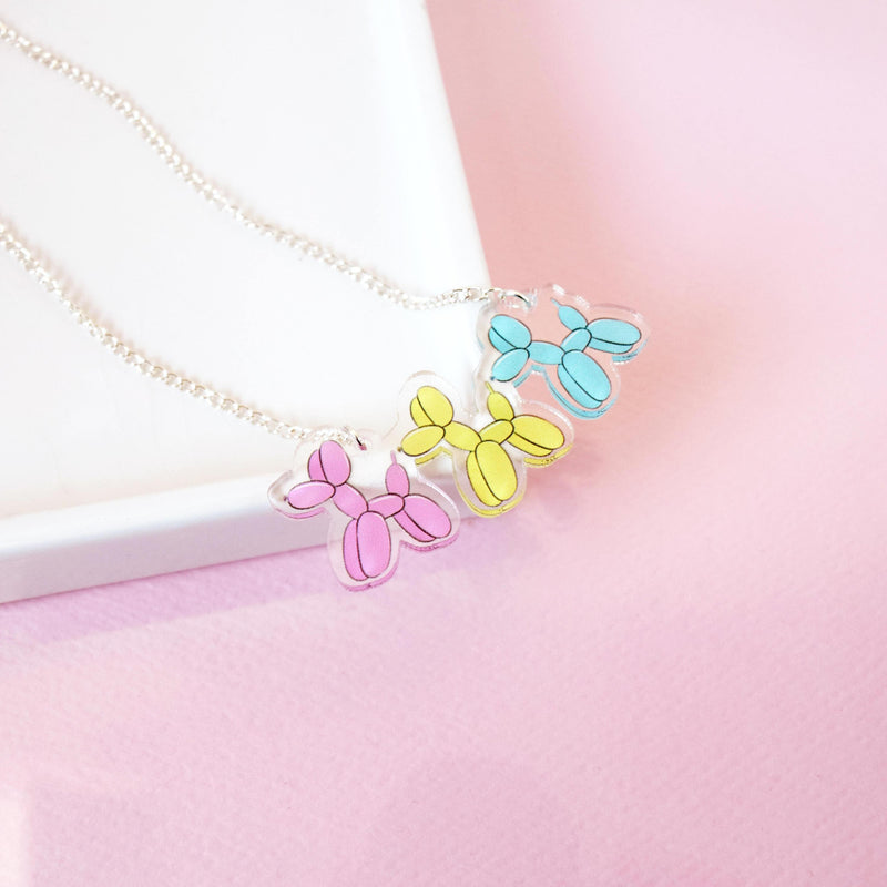 Balloon Dog Necklace - House Of Wonderland, HOW