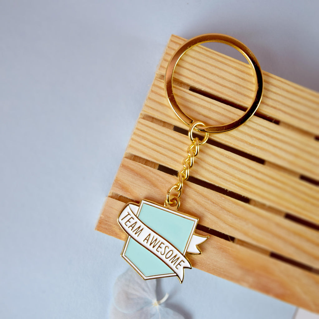 Team Awesome® Keyring - House Of Wonderland, HOW