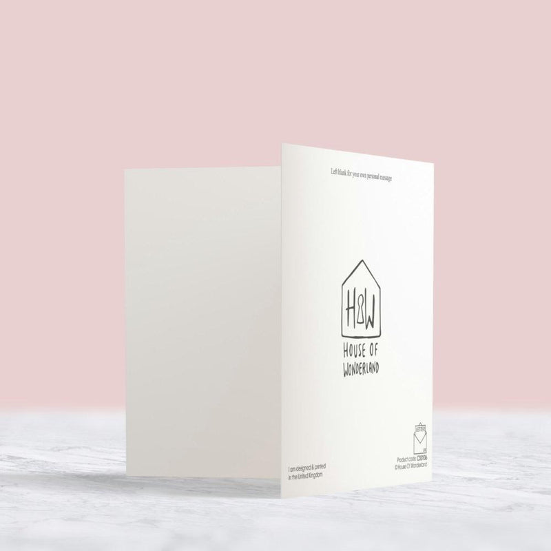 New Home Card - House Of Wonderland