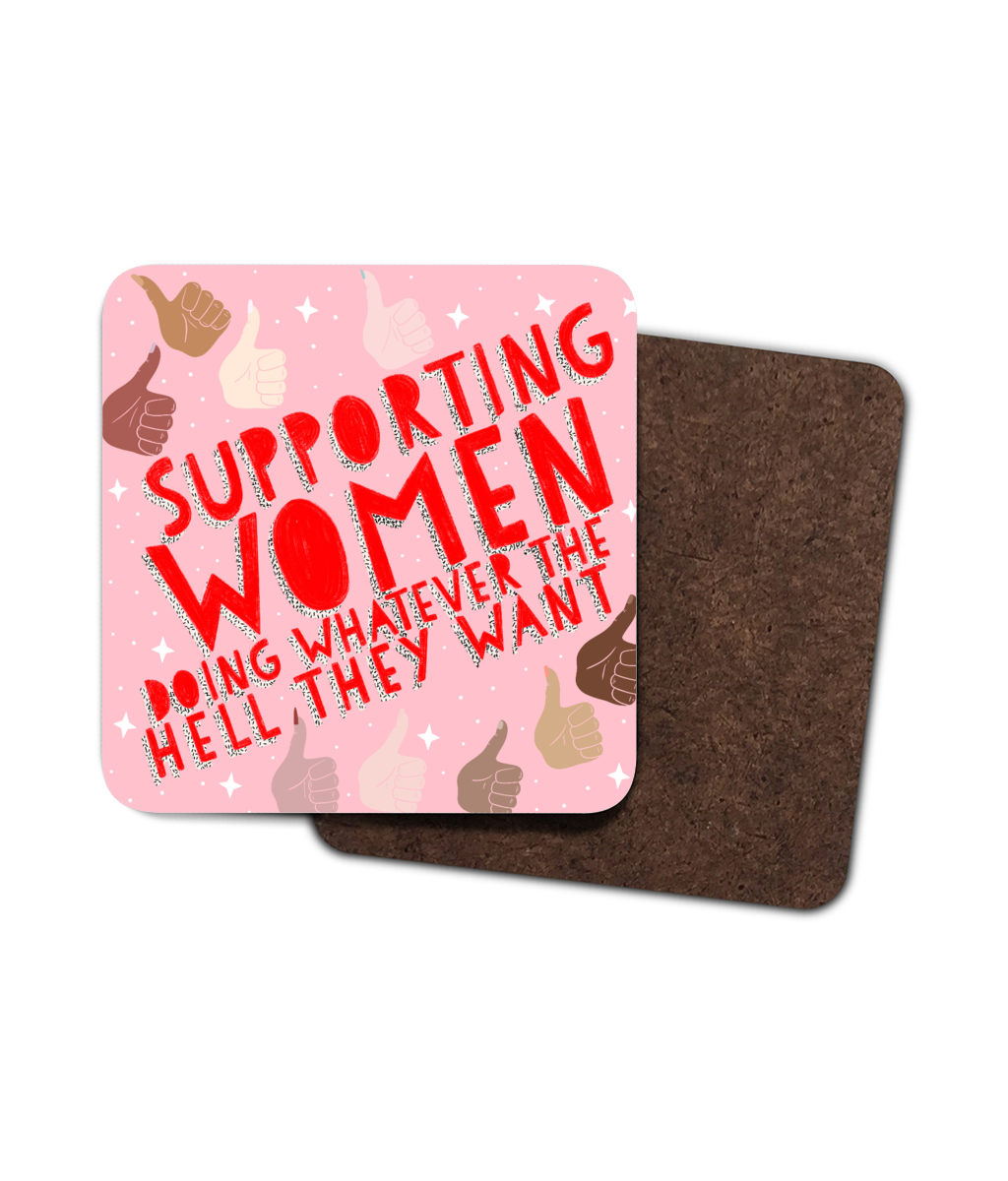 Supporting Women Coaster - House Of Wonderland, HOW