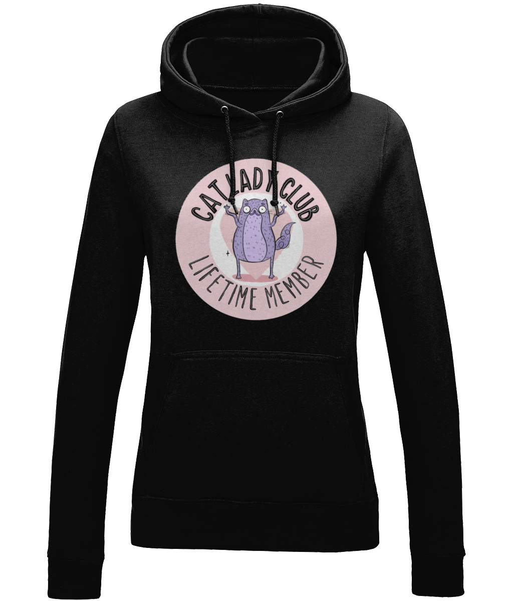 Cat Lady Club Hoodie - House Of Wonderland, HOW