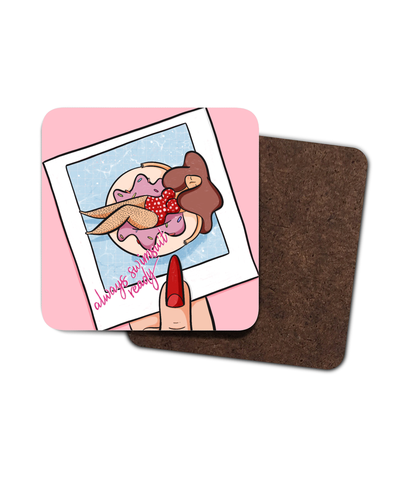 Hawaiian Hula Girl Coaster