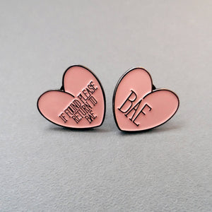 Bae Enamel Pin - House Of Wonderland, HOW