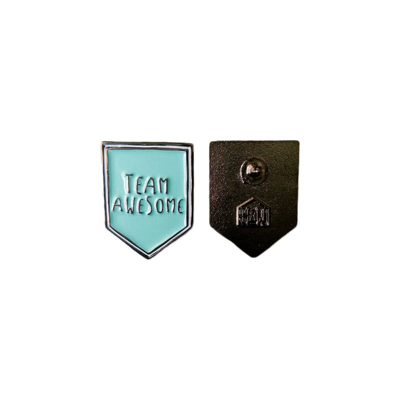 Team Awesome™ Flag Enamel Pin - House Of Wonderland, HOW