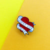 Wifey For Lifey Enamel Pin - House Of Wonderland, HOW