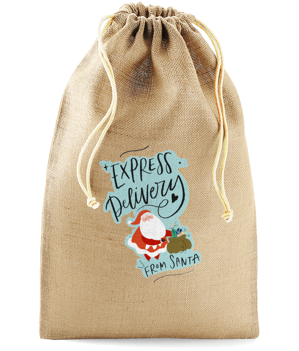 Santa Express Delivery Sack - House Of Wonderland, HOW
