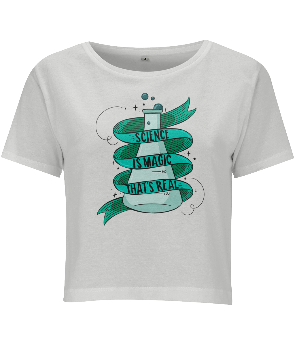 Magic Science Crop Top - House Of Wonderland, HOW