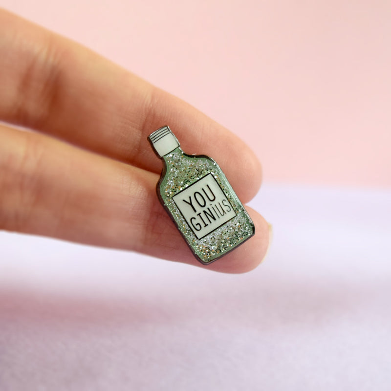 You GINius Enamel Pin - House Of Wonderland