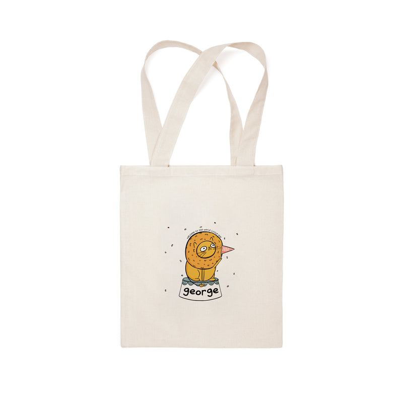 Personalised New Baby Tote Bag - House Of Wonderland, HOW