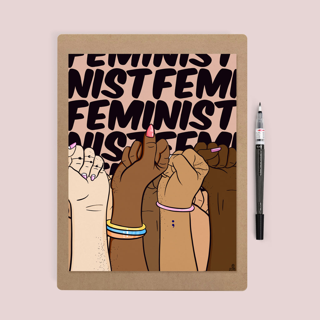 Feminist Print - House Of Wonderland