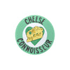 Cheese Connoisseur Badge - House Of Wonderland, HOW