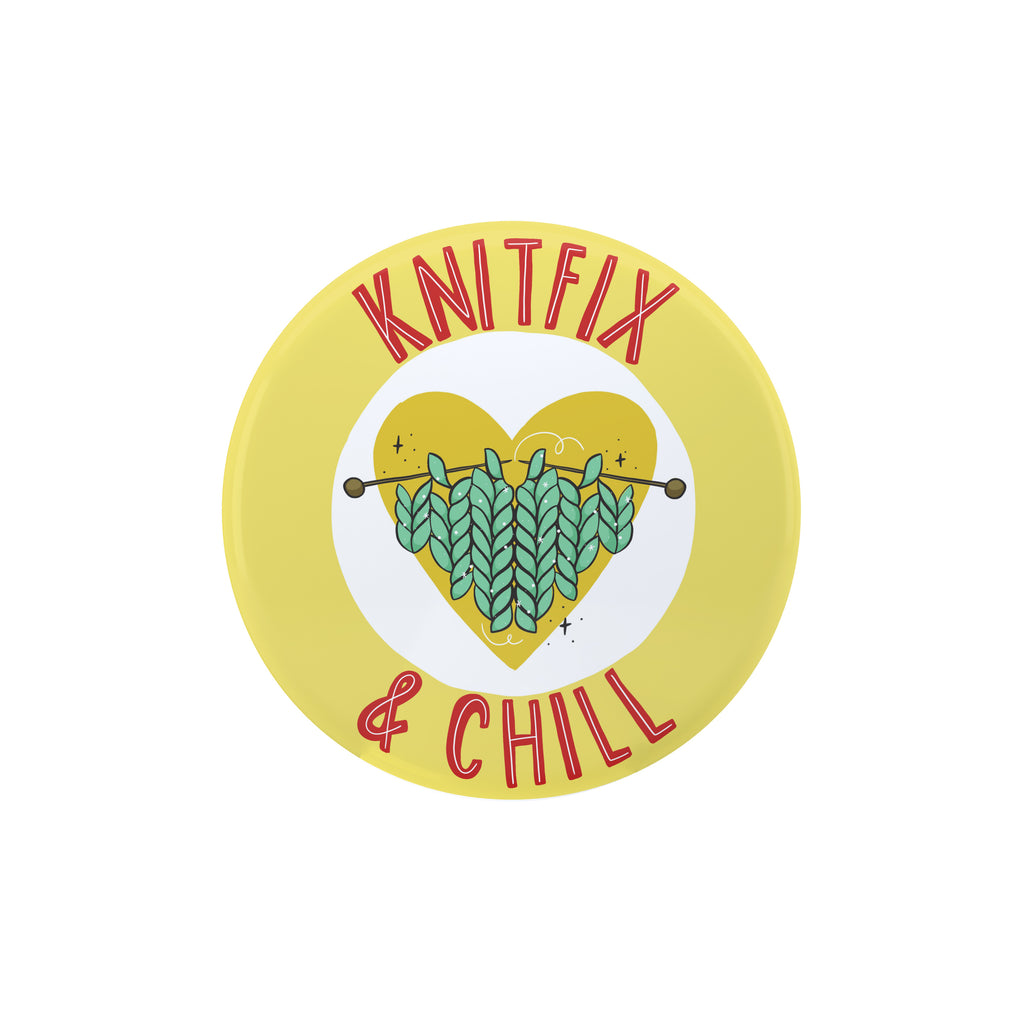 Knit - Fix Large Badge - House Of Wonderland, HOW