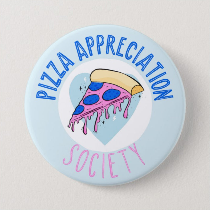 Pizza Appreciation Large Badge