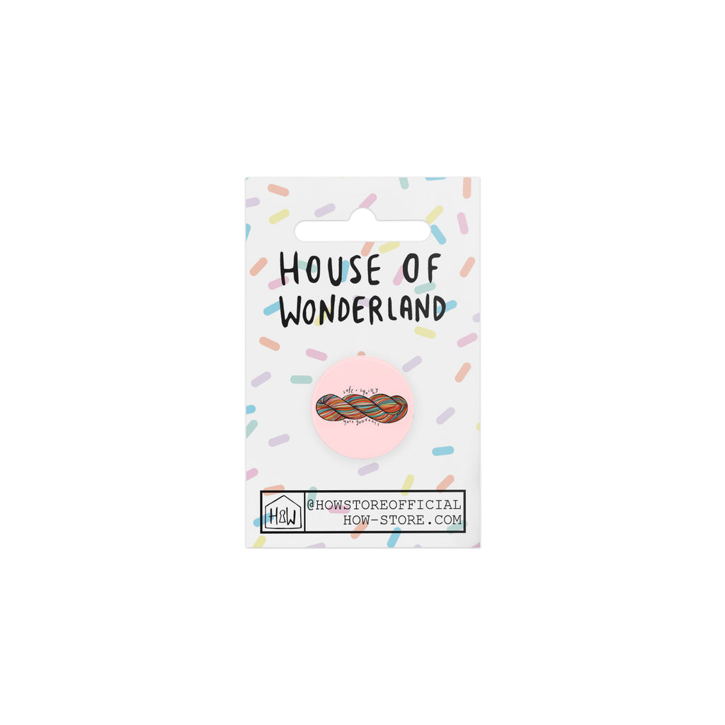 Soft & Squishy Badge - House Of Wonderland, HOW