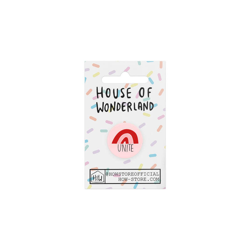 Unite Badge - House Of Wonderland, HOW