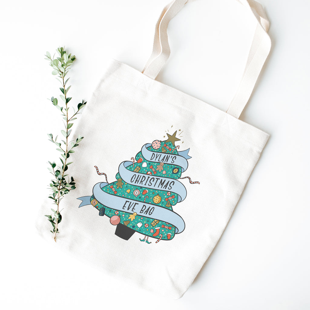 Personalised Christmas Eve Bag - House Of Wonderland, HOW