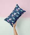 Evil Eye Hands Faux Suede Cushion - House Of Wonderland, HOW