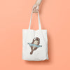 Personalised New Baby Tote Bag