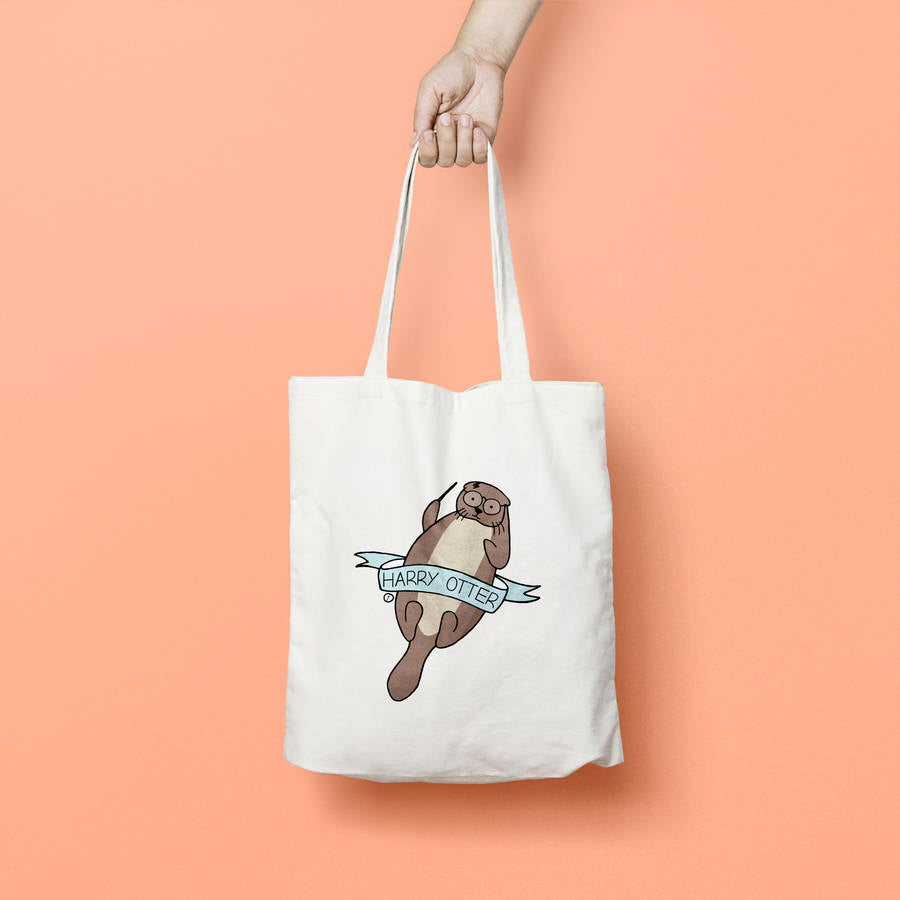 Harry Otter Tote Bag - House Of Wonderland, HOW