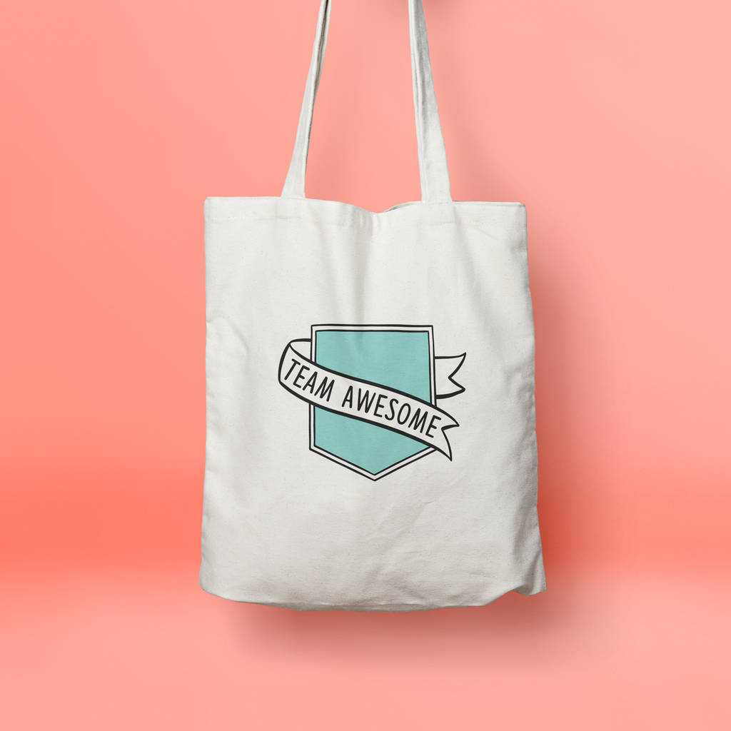 Team Awesome Tote Bag - House Of Wonderland, HOW