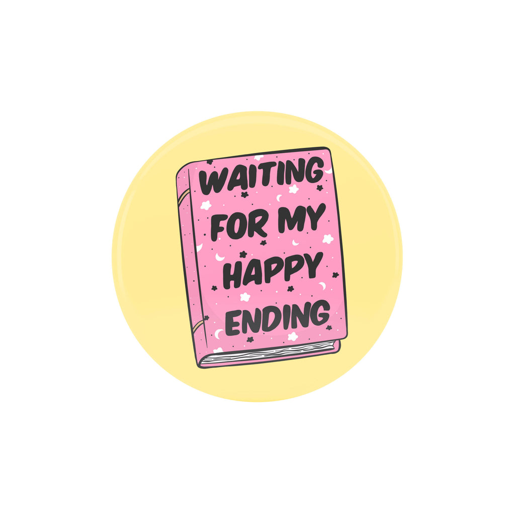 Happy Ending Badge - House Of Wonderland, HOW