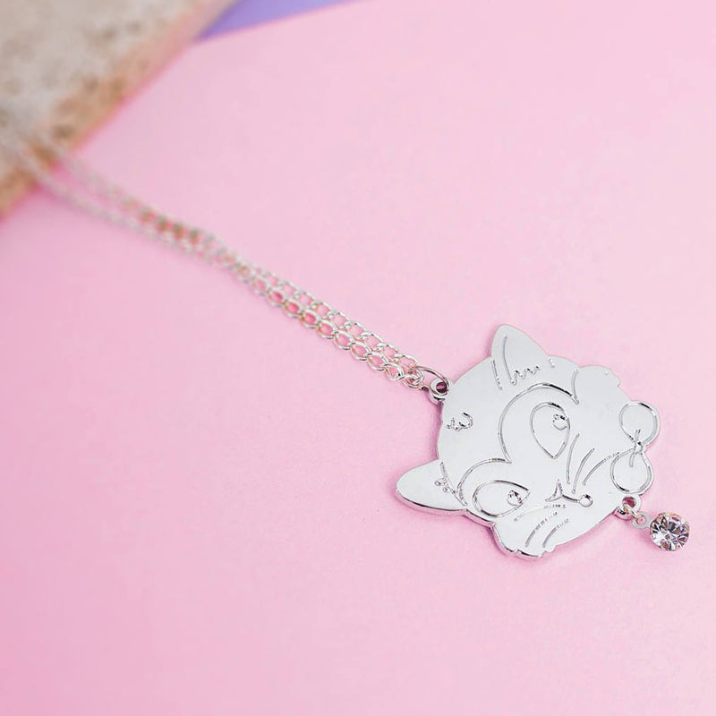Crystal Cat Necklace - House Of Wonderland, HOW