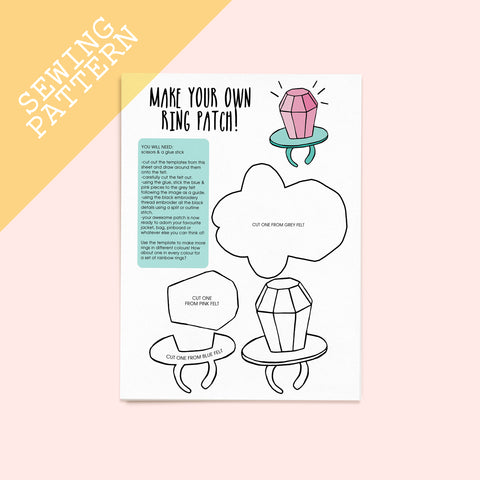Frozen Yogurt Sewing Pattern