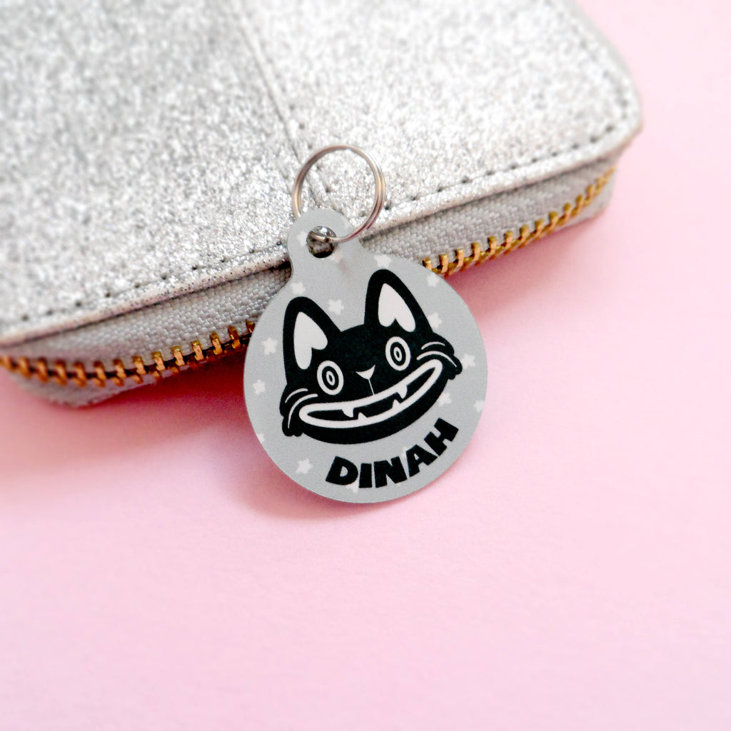 Happy Cat Pet Tag - House Of Wonderland, HOW