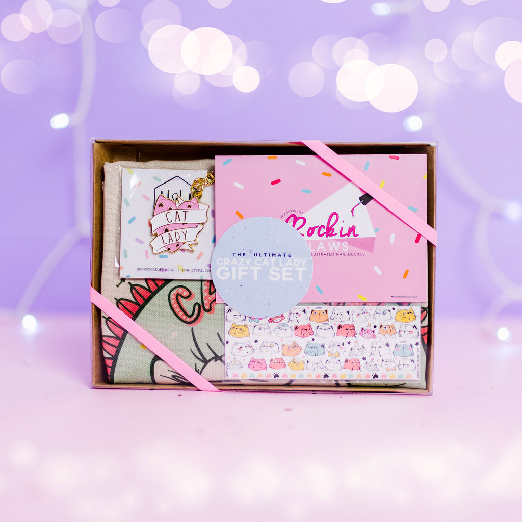 Cat Lady Gift Box - House Of Wonderland