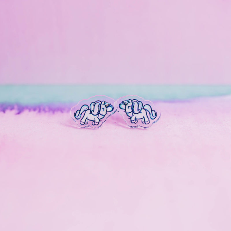 Magical Unicorn Earrings - House Of Wonderland