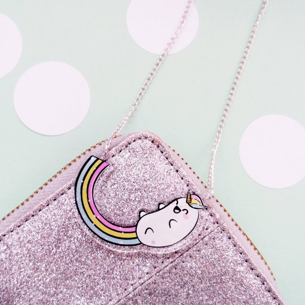 Rainbow Unicorn Necklace - House Of Wonderland, HOW