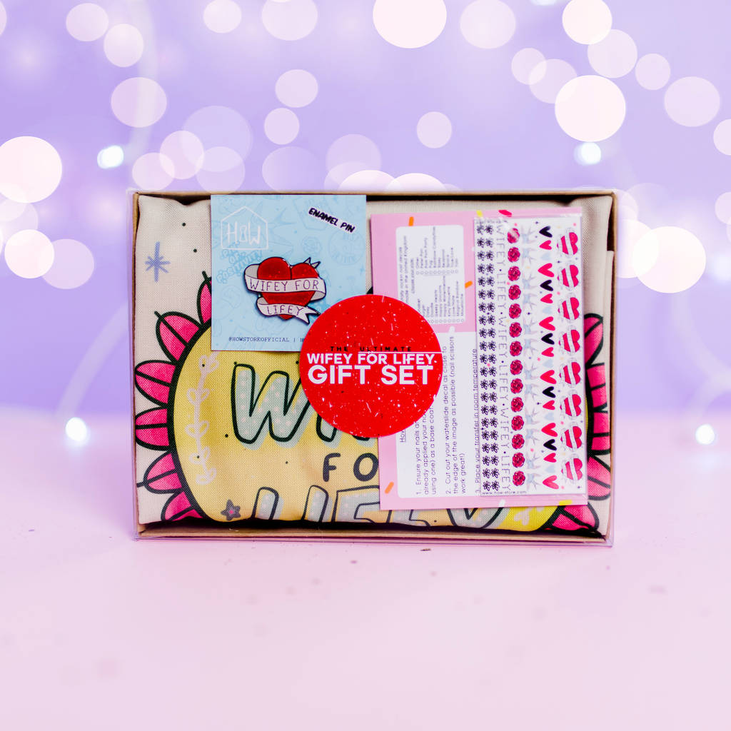 Wifey For Lifey Gift Set - House Of Wonderland