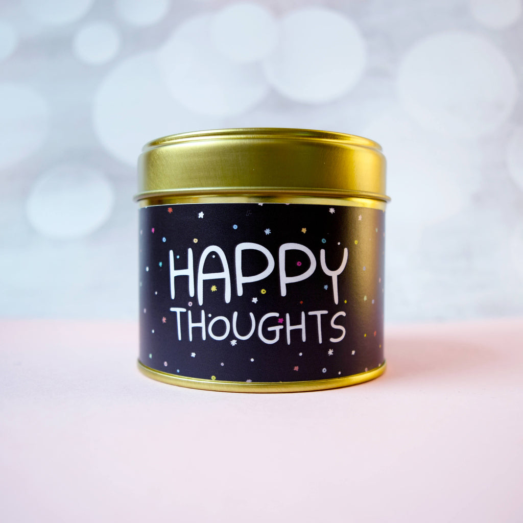 Happy Thoughts Tin - House Of Wonderland