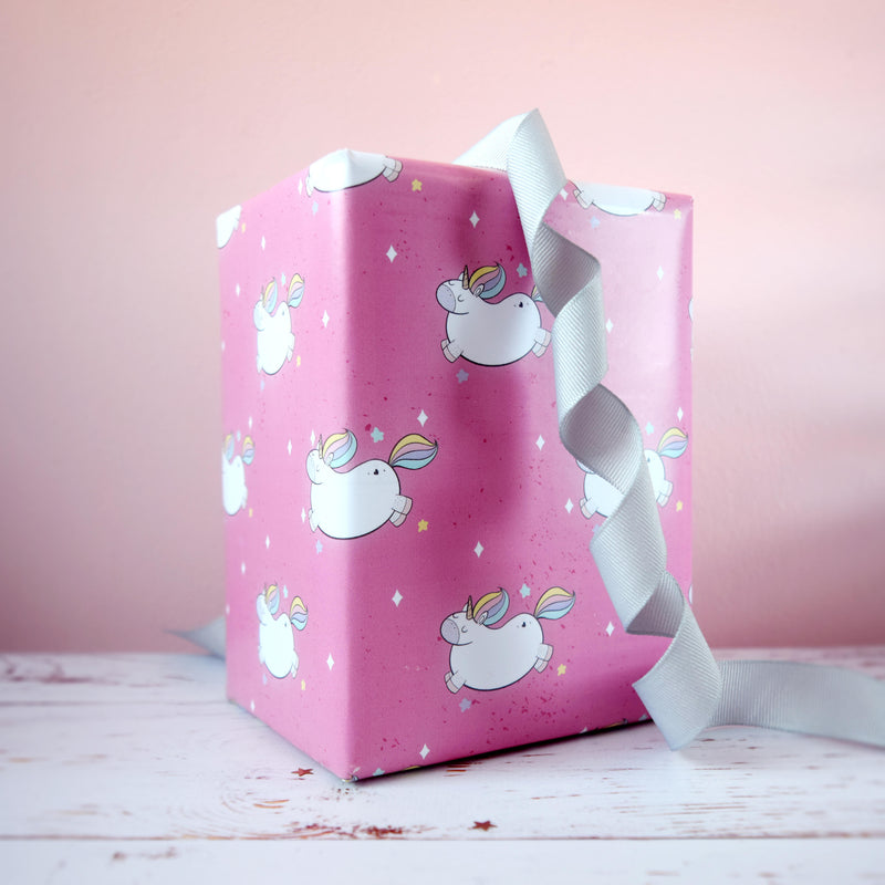 Magical Unicorn Gift Wrap - House Of Wonderland, HOW