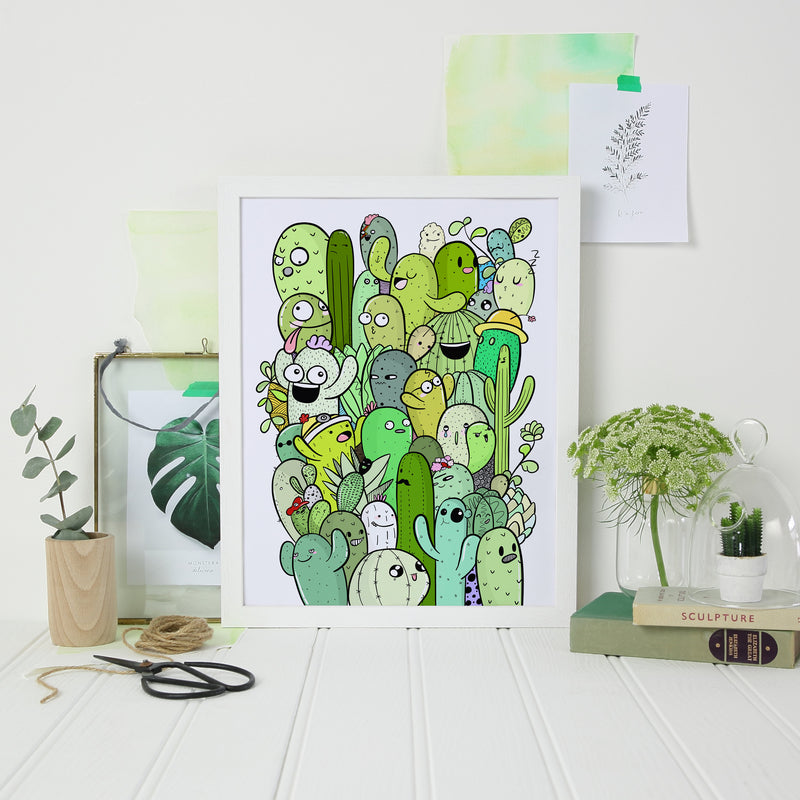 Cactus Print - House Of Wonderland