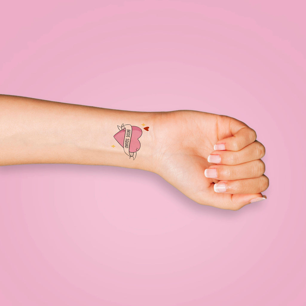 Bride Squad Temporary Tattoos - House Of Wonderland
